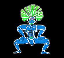 Dance Warrior  BIG CHIEF by JimmyGlenn Greenway