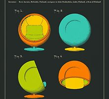 Globe Chair (1968) by JazzberryBlue