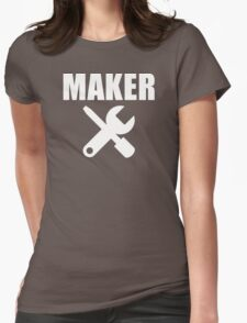 Maker Womens Fitted T-Shirt