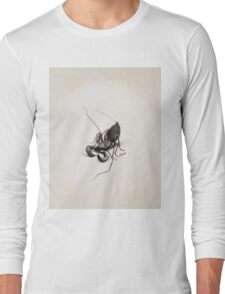 Louis Agassiz Fuertes - Whip Scorpion. Insects painting: Scorpion, fly, bugs, lucky, monster, wild life, animal, butterfly, little small, insects, nature Long Sleeve T-Shirt