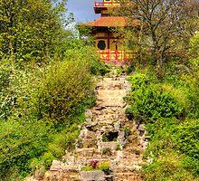 Peasholm Park Pagoda by Tom Gomez