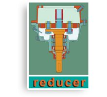 Reducer Canvas Print