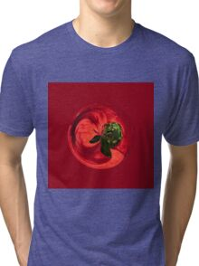 Petunia Sphere Tri-blend T-Shirt