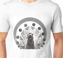 Trippy Smiling Llama Unisex T-Shirt