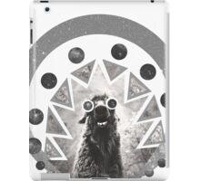 Trippy Smiling Llama iPad Case/Skin