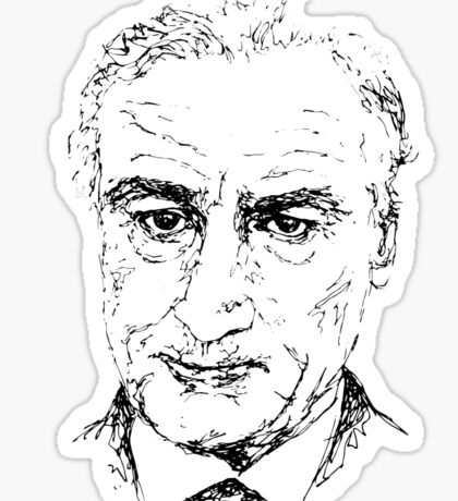 Robert De Niro Sticker