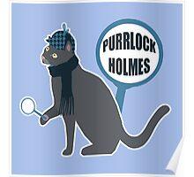 Purrlock Holmes Poster
