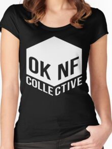 OKNF Crew Tees Women's Fitted Scoop T-Shirt