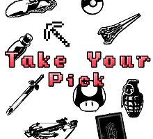 Take Your Pick by Joel Scott