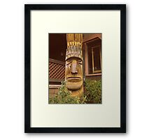 Big Chief Framed Print