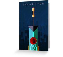 Transistor Greeting Card