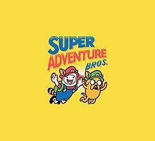 Super Adventure Time Iphone Case by MatthewStudios