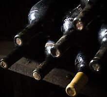 Wine Cave Bottles by williamsrdan