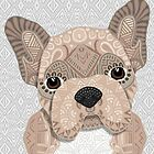 Beige Frenchie Puppy 001 by artlovepassion