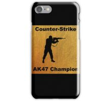 Counter Strike - AK47 Champion iPhone Case/Skin