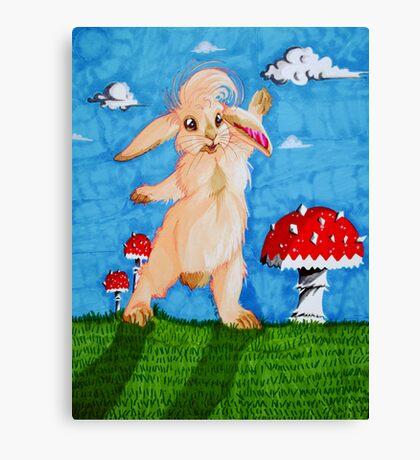 Hello Rabbit! Canvas Print