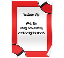 Trainer Tip - Shorts Poster