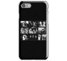 Friends Photoshoot Collage Black & White iPhone Case/Skin