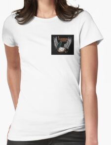 A Clockwork Citadel - LOGO (black) Womens Fitted T-Shirt