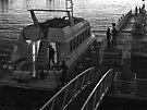 Robben Island ferry by awefaul