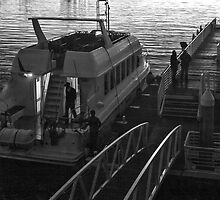 Robben Island ferry by awefaul