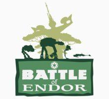 Battle of Endor by omgawrsh