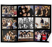Friends Photoshoot Collage #3 Poster