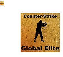 Counter Strike - Global Elite Photographic Print