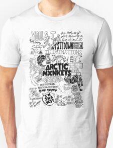 Monos árticos Unisex T-Shirt