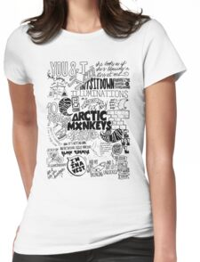 Monos árticos Womens Fitted T-Shirt