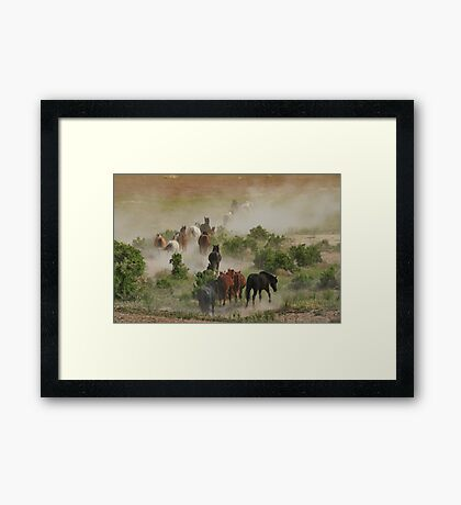 The Retreat Framed Print