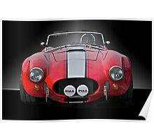1965 Shelby Cobra II Poster