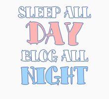 Sleep All Day, Blog All Night Tank Top