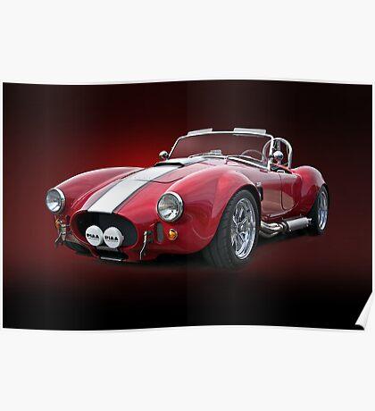 1965 Shelby Cobra III Poster
