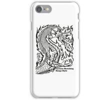 Manga Dragon Iphone case iPhone Case/Skin