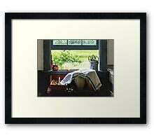 View From Kitchen Window Framed Print