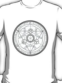 Fullmetal Alchemist transmutation circle T-Shirt