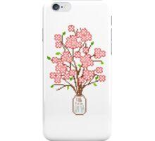 Pixelated Blossom Tree iPhone Case/Skin