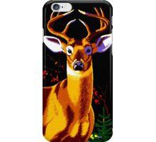 """""""HUNTING"""" Vintage Deer, Elk, Bear, Moose Print iPhone Case/Skin"""