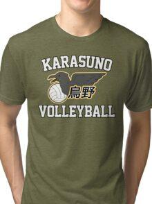 Haikyuu!! / Karasuno Volleyball Tee Tri-blend T-Shirt