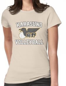 Haikyuu!! / Karasuno Volleyball Tee Womens Fitted T-Shirt