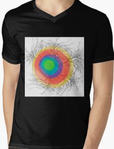 Abstract trees Mens V-Neck T-Shirt