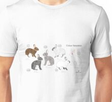 Rabbit Colour Genetics - Saturation Gene Unisex T-Shirt