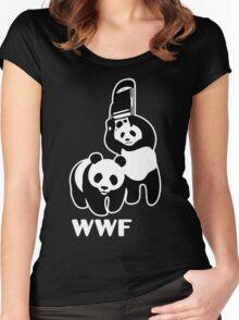 panda wwf Women's Fitted Scoop T-Shirt