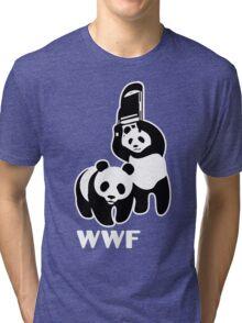 panda wwf Tri-blend T-Shirt