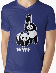 panda wwf Mens V-Neck T-Shirt