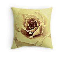 Faded Bloom Throw Cushion Throw Pillow