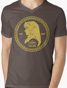 The Legend Of Zelda - 1986 Mens V-Neck T-Shirt