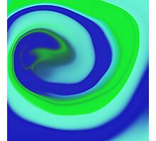 Abstract spiral Photographic Print