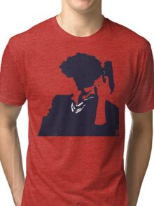 Cowboy Bebop - Spike Knockout Tri-blend T-Shirt
